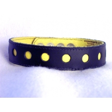 "1"" Wide Stitched Arm Band With Pokadots"