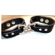 """1-1/2""""Wrist Band Connected Restraints"""