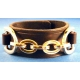 "1-1/2"" Wide Gold-Plated Wrist Band"