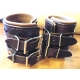 Leather Weight Lifting Wrist Bands